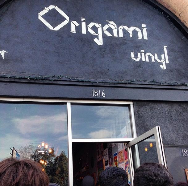Origami Vinyl